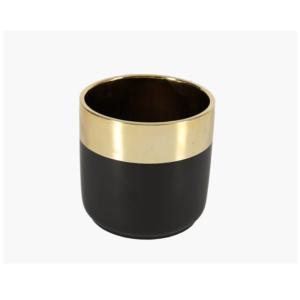 Black Dipped Vase