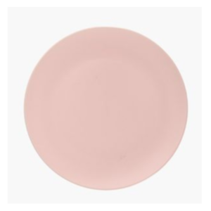 Blush Pink Dinner Plate