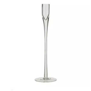 Glass Taper Candlestick Tall