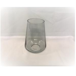 Grey Cylinder Vase