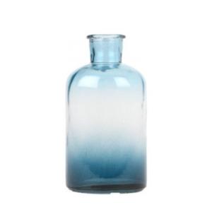 Ombre Blue Vase