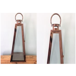 Rose Gold Lantern Large