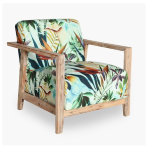 Tropical Print Chair