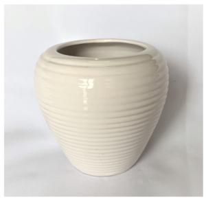 White Bell Vase