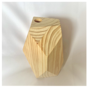 Wooden Hexagon Holder Large