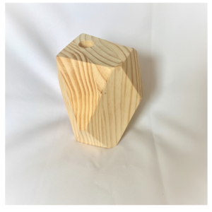 Wooden Hexagon Holder Medium