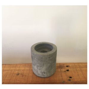Cement Candle Holder Short