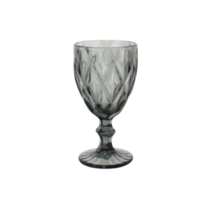 Grey Wine Glass