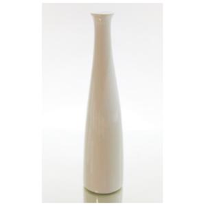 Thin White Ceramic Vase