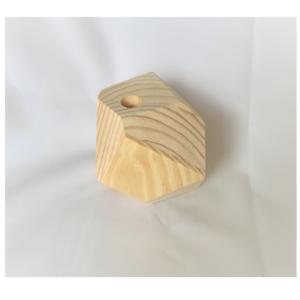 Wooden Hexagon Holder Small